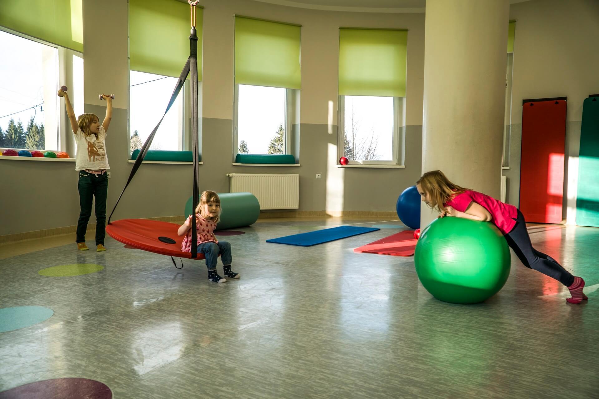 Sala gimnastyczna Szpital Orlik