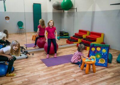Sala gier i zabaw dla najmłodszych Szpital Orlik